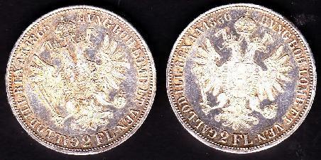 2 FL Gulden 1866